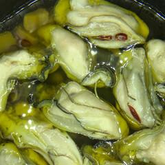 釧路/釧路市/アヒージョ/写真/oyster/オイスター/... 美味しそうな牡蠣 アヒージョにしました。…