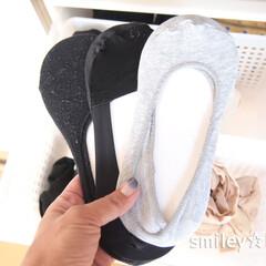 脱げないココピタ/脱げないココピタ ニットータイプ 浅履き レッグウェア(着圧ウエアボトムス)を使ったクチコミ「靴下よりもフットカバーの方がよく履きます…」