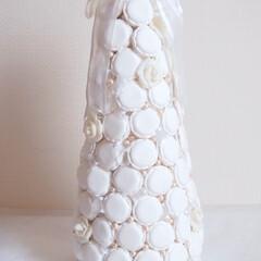 マカロン/マカロンタワー/スイーツデコ/紙粘土/クレイスイーツ 自宅リビングに飾っています♪ 紙粘土で大…