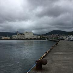 のんびり/小樽/魚釣り 魚釣りに来たけれど だーれも来てない っ…