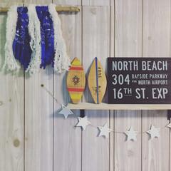 サーフボード/流木タペストリー/西海岸風 自分で壁紙チェンジしてみました♡ お気に…