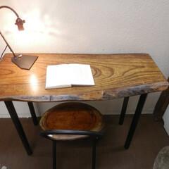 自然木アイアンテーブル 自然木アイアンテーブル  このテーブルは…