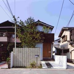 白/黒/ブラウン/木目柄/ナチュラル 昭和50年代の建売住宅をリノベーションし…