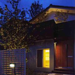 白/黒/ブラウン/木目柄/ナチュラル/和風/... プライバシーを守りつつ、家から漏れる光が…