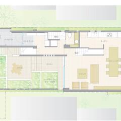 コートハウス コートハウス形式の住宅。周囲を庭に囲まれ…