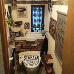 トイレ/100均/セリア/ダイソー/キャンドゥ/すのこ/... 我が家のトイレ 100均を沢山使っていま…
