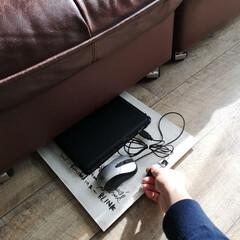 デッドスペース/DIY/掃除/暮らし ソファーの下わずか7cmのデッドスペース…