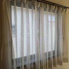 男前インテリア/ディスプレイ棚/原状回復/窓枠/窓枠DIY/寝室インテリア/... 寝室の窓。 普段、開けることのない窓。 …(3枚目)