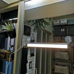 女優ミラー/間接照明/照明/あかりちゃん/ampoule(アンプール)/雑貨/... 鏡に取り付けて お化粧の時に使うことも。…