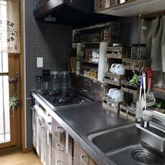 ハッテミー/壁紙屋本舗/男前インテリア/DIY/キッチン/キッチン雑貨/...  大掃除も少しだけ ・ みなさんは 普段…