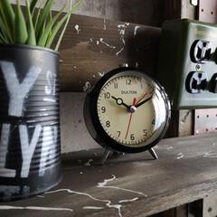 インテリア雑貨/時計/男前インテリア雑貨/ダルトン/目覚まし時計/雑貨/... 息子の部屋に時計を購入。 壁掛けはあるけ…