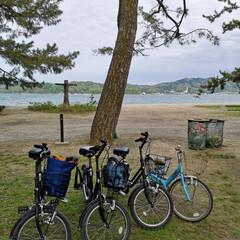 初体験/サイクリング/天橋立/ありがとう平成/GW/至福のひととき/... 平成最後の旅行 天橋立 全長3.6キロ …
