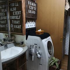 バスケット収納/トイレットペーパー収納/洗面室/洗面所/DIY/収納/... トイレットペーパーのストック収納方法 結…