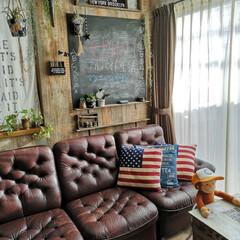 グリーンのある暮らし/カリモクソファ/カリモク/壁紙屋本舗/黒板DIY/黒板/... 2018.10.23tuesday ・ …