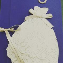 結婚祝/出産祝い/メッセージカード/熨斗袋/お祝い/100均/... 手作りカード 最近会社でお祝い続き❤️ …