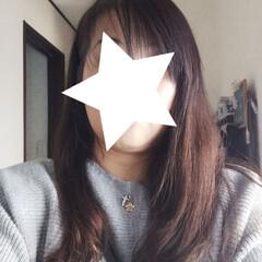 白髪染め/ヘアドネーション/グレイヘア/外食/ペット/美容院 カラーしてきました❤️ 白髪染め悩み多き…