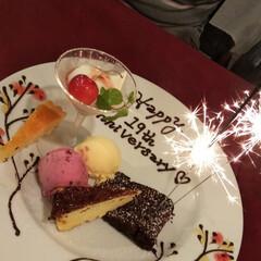 結婚記念日/カジュアルフレンチ/グルメ/フード/スイーツ/おでかけ 昨日は19回目の結婚記念日でした。 お食…