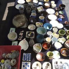 陶器の即売会/陶芸/陶器/キッチン雑貨/ハンドメイド 無事に即売会終えました😁 私の作品たちも…