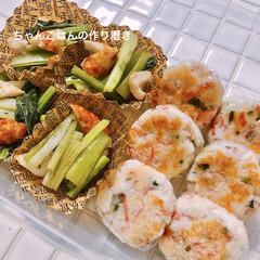 ちゃんごはん/小松菜/はんぺん/お弁当おかず/手作り冷食/作り置き 夜ご飯のついでにパパッと手作り冷食🍱💪🏾…