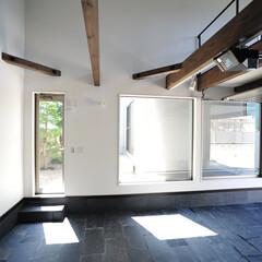 ガレージハウス/ビルトインガレージ/ビルトイン車庫/駐車場/ロフト/趣味の部屋/... ガレージハウス 趣味のスペース、ロフトを…
