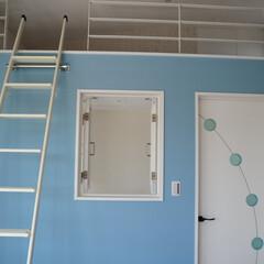 子供部屋/ロフト/ボルダリング/かっこいい家/可愛い家/かわいい部屋/... ダイニングに小上がりの座敷、ボルダリング…