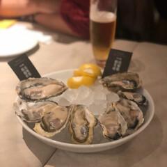 お外ごはん/食べ放題/カキ/牡蠣/フォロー大歓迎 牡蠣づくし🤤今度な昼を抜いてから行かない…