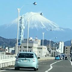 いつもの景色 これは、だいぶ前に撮った 富士山です 毎…