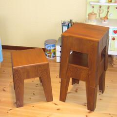 プライウッドスツール/椅子 プライウッドスツール  とっても軽くてス…