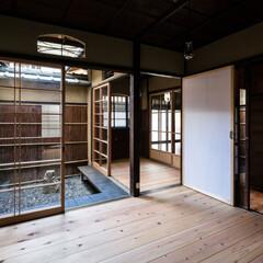 建具/木製/木造/障子/ガラス/杉/... 町屋の空間や素材は現代の住宅より遥かにソ…