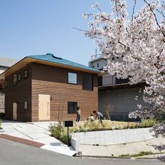 住宅/新築/戸建て/四角い/家/大阪/... 西より。