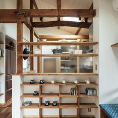 リフォーム/リノベーション/飾り棚/キッチン/ダイニング/家具/... たくさんの調度品を季節や気分に合わせてレ…