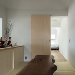 新築/木造/住宅/間取り/戸建て/畳/... 和室。お施主様がお持ちのブラックウォルナ…