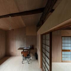 シンプル/ナチュラル/レトロ/アンティーク/モダン/和/... 壁・天井はラワン。床は補強を兼ねた構造用…