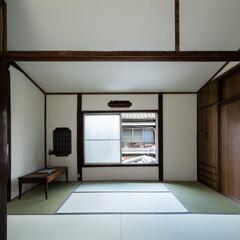 京都/大阪/奈良/関西/改善/木造/... 壁面の孔は解体時に発見された下地窓。普段…