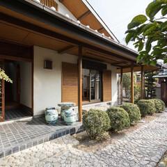 建築家/設計事務所/奈良/大阪/京都/不動産・住宅/... 外部は屋根瓦や樋・門扉の修繕、外壁や木…