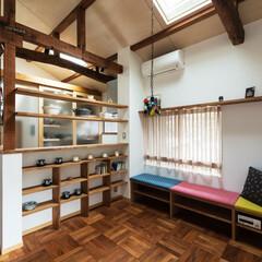 新築/不動産・住宅/家づくり/リフォーム/リノベーション/改修/... デッドスペースだった屋根裏を活用した半階…