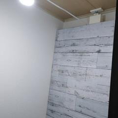 DIY/トイレ/DAISO/100均/ウォシュレット/INAX ウォシュレットの配線隠すために、2×4を…