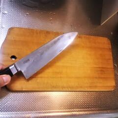 キッチン/家族/幸せ/包丁/まな板/台所/... 毎日たくさんの野菜やお肉を切ってきた。 …