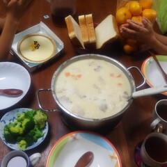 おうちごはん/コンロ専用パネル/奇跡の晩御飯の時間/なっかん ~シチュ~。~  今日の我が家の晩御飯は…