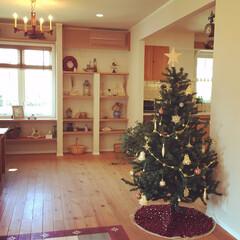 クリスマス/クリスマスツリー/リビング/ショールーム/輸入住宅/インテリア/... ショールームにクリスマスツリーを飾りまし…(1枚目)