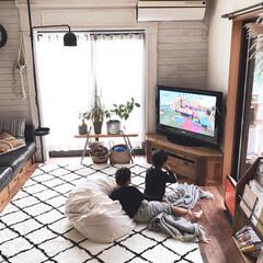 ニトリ/ラグ/インテリア/DIY/家具/イケア/... こんにちは(*⌒∇⌒*)テヘ♪ 先日の朝…