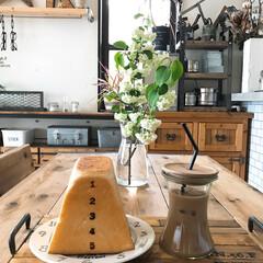 カフェトレイ/飛び箱パン/コーヒー/おうちごはん/DIY/雑貨/... おはようございます(♡ˊ艸ˋ♡) 今日は…