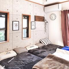 大掃除/寝室/インテリア/DIY/家具/ニトリ/... おはようございます(❁・∀・❁) 気づけ…(1枚目)