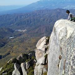 山歩き/ハイキング/お出かけ/子供/ピクニック/キャンプ/... 今年は親子で絶景を‼ 100名山の瑞牆山…