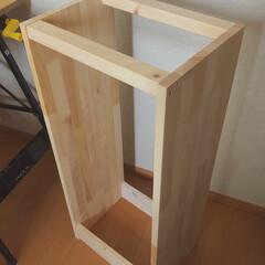 タイルDIY/収納棚DIY/木工/棚DIY/棚/収納/... 先日、姉に頼まれていた棚を作りました。 …(6枚目)