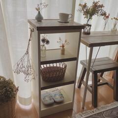 タイルDIY/収納棚DIY/木工/棚DIY/棚/収納/... 先日、姉に頼まれていた棚を作りました。 …(3枚目)