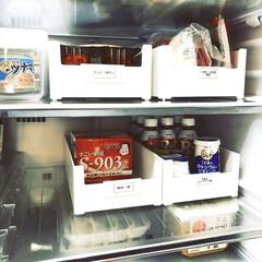 仕切りケース/冷蔵庫収納/skitto/スキット収納/カインズホーム/カインズ/... LIMIA✕カインズのスキット収納ケース…