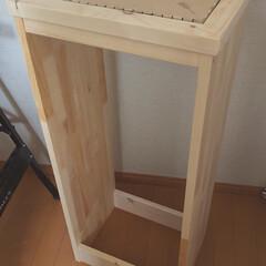 タイルDIY/収納棚DIY/木工/棚DIY/棚/収納/... 先日、姉に頼まれていた棚を作りました。 …(7枚目)