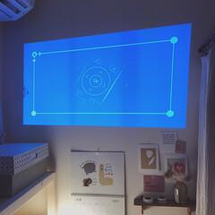 モバイル プロジェクター 小型 ワイヤレス 天井 ホームシアター 子供 壁 家庭用 コンパクト プロジェクター Bluetooth スマホ 接続 WiFi HDMI DVD ビジネス モバイルプロジェクター iPhone android 三脚 小型プロジェクター 天井 ホームプロジェクター ミニプロジェクター(カテゴリ未割り当て)を使ったクチコミ「スマートプロジェクター《カベーニPro》…」(4枚目)