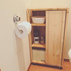 ウタマロクリーナー   ウタマロ(その他洗剤)を使ったクチコミ「先日、トイレに掃除道具や洗剤などを入れる…」(2枚目)